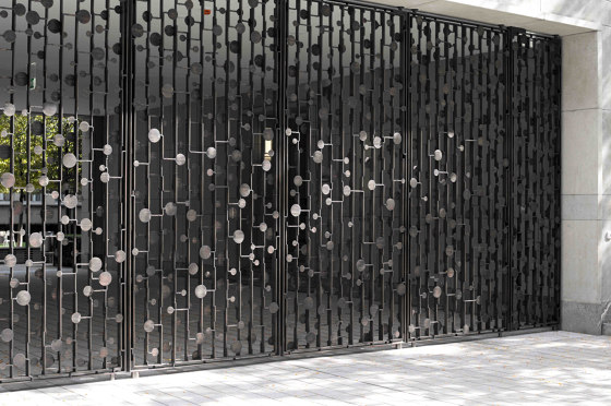 Gates | Novartis by Bergmeister Kunstschmiede | Boundaries