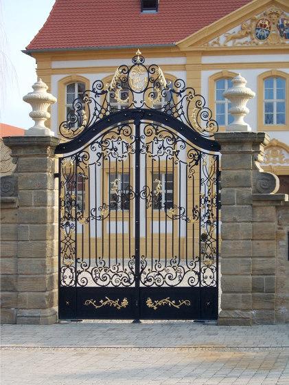 Gates   Schloss by Bergmeister Kunstschmiede   Boundaries