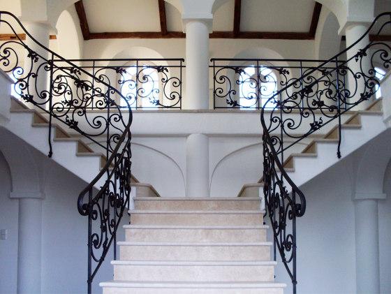 Stair Railing | France by Bergmeister Kunstschmiede | Stair railings