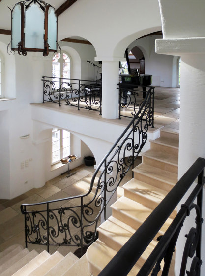 Stair Railing | France by Bergmeister Kunstschmiede | Balustrades