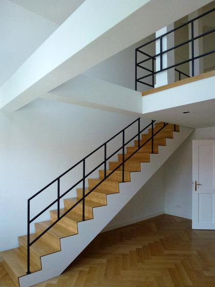 Stair Railing   Mercator by Bergmeister Kunstschmiede   Balustrades