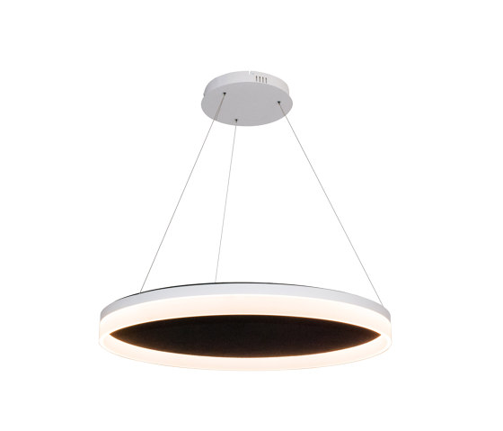 Acoustic Circulo 80 Black by Valaisin Grönlund | Suspended lights