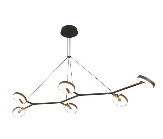 Arm 6 Pendant Light by Valaisin Grönlund | Suspended lights