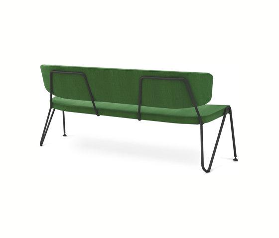 F1 Sofa green white di Neil David   Panche