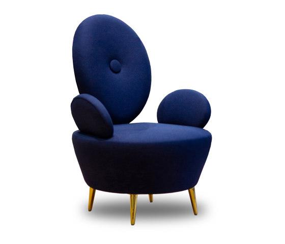 AYI | ARMCHAIR | Blue by Maison Dada | Armchairs