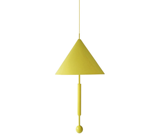 OBJECT OF DISCUSSION   Pendant Lamp   Yellow by Maison Dada   Suspended lights