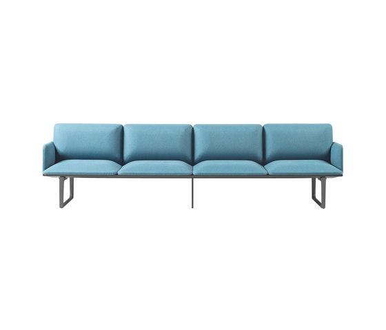 Square Modular Seating 4 Places de Sellex | Canapés