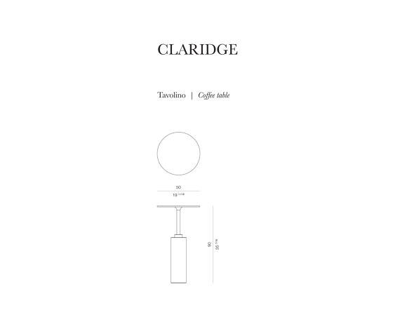 Claridge Coffee Table de Rossato | Tables d'appoint