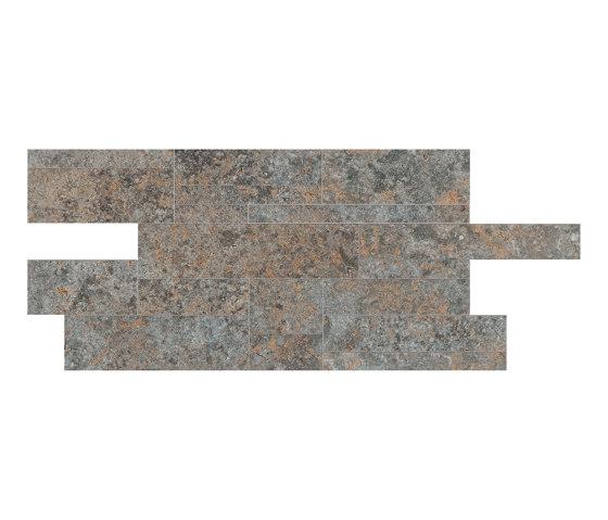 Petrae Muschelkalk Brown Muretto R by Refin | Ceramic tiles
