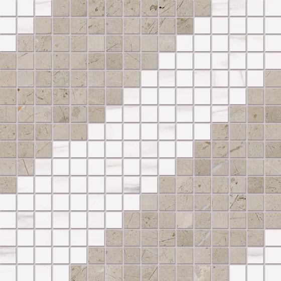 Prestigio Arcadia Mosaico Macro by Refin | Ceramic tiles