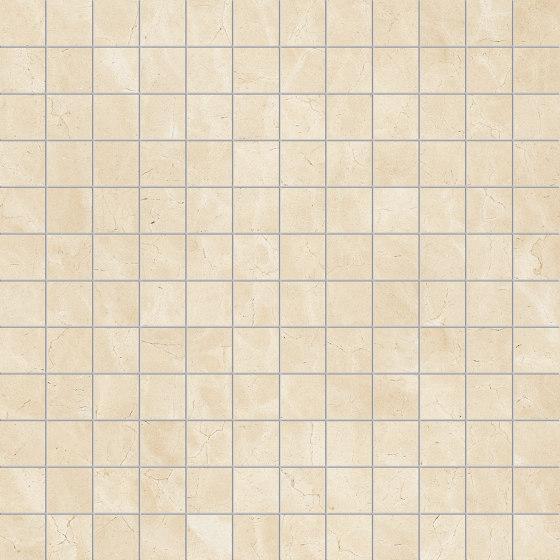 Prestigio Marfil Lucido Mosaico de Refin | Carrelage céramique
