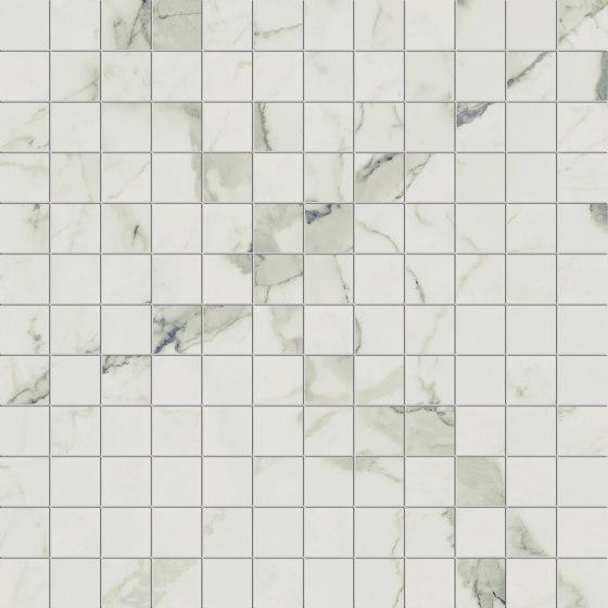 Prestigio Statuario Mosaico by Refin   Ceramic tiles