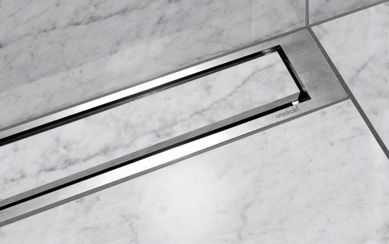 HighLine | Custom with frame by Unidrain | Linear drains