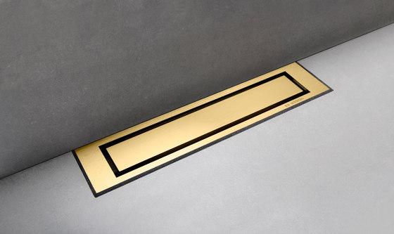 HighLine Colour | Brass by Unidrain | Linear drains