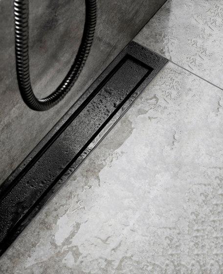 HighLine Colour | Black by Unidrain | Linear drains
