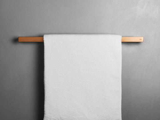 Reframe Collection   Towel bar - copper by Unidrain   Towel rails