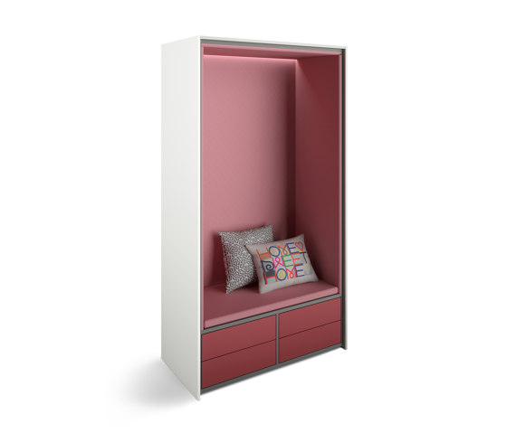basic S cupboard booths | beach chair with pull-out drawers de werner works | Bancs