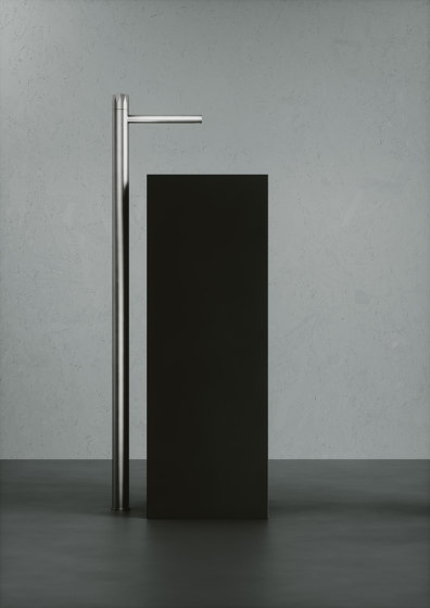 Hb | Stainless steel Free standing progressive mixer by Quadro | Wash basin taps