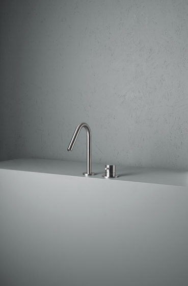 Ottavo | Two Hole Mixer/Spout by Quadro | Wash basin taps