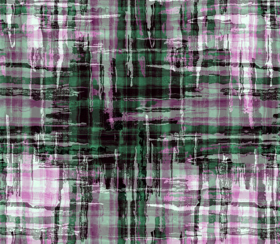 Check | artist wallpaper by Ginny Litscher | Wall coverings / wallpapers