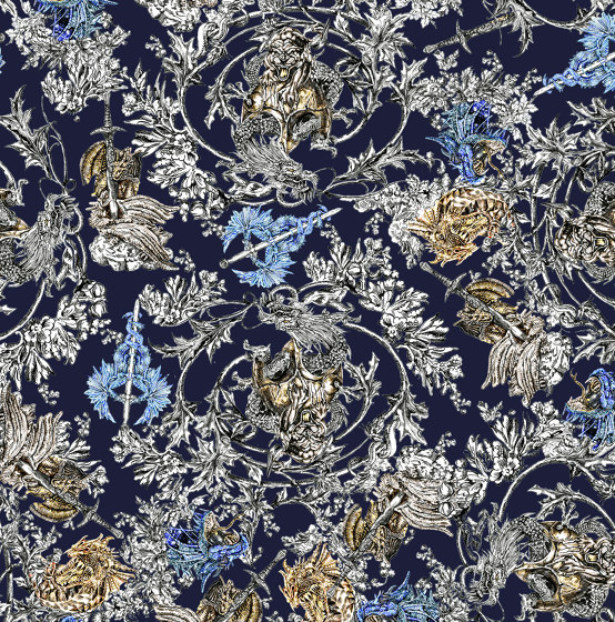 Dragon   artist wallpaper by Ginny Litscher   Wall coverings / wallpapers