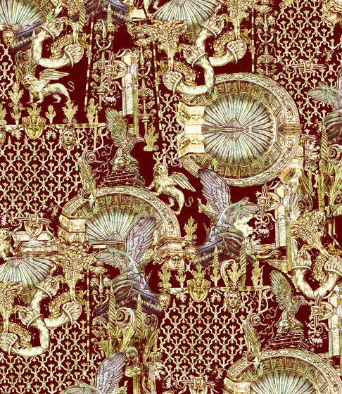 Udine | artist wallpaper by Ginny Litscher | Wall coverings / wallpapers