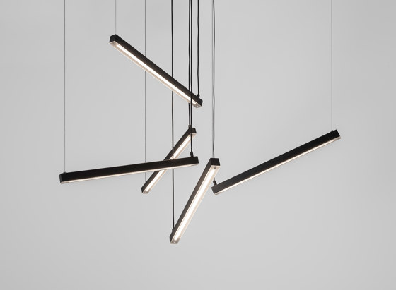 Artys Flex by Ilfari   Suspended lights