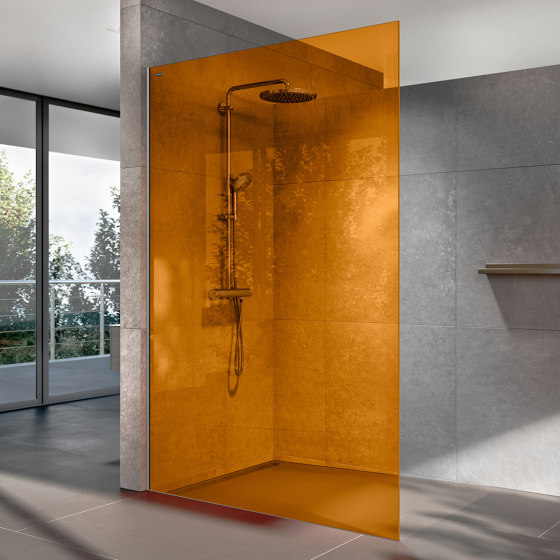 Air Colours by Duscholux AG | Shower screens