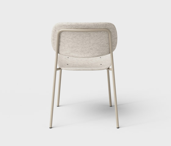Hale PET Felt Stack Chair by De Vorm | Chairs