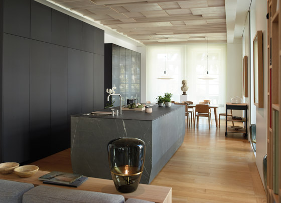 Marble Grey FINE by Santos | Fitted kitchens