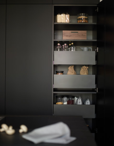 Tall units with interior drawers FINE by Santos | Kitchen cabinets