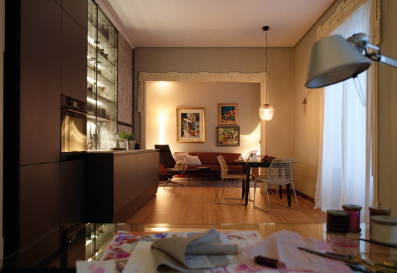 FINE LED lighting systems by Santos | Fitted kitchens