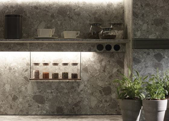 FINE Accessories for LED lighting profile by Santos | Kitchen organization