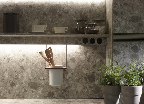 Accessories for LED lighting profile FINE by Santos | Kitchen organization