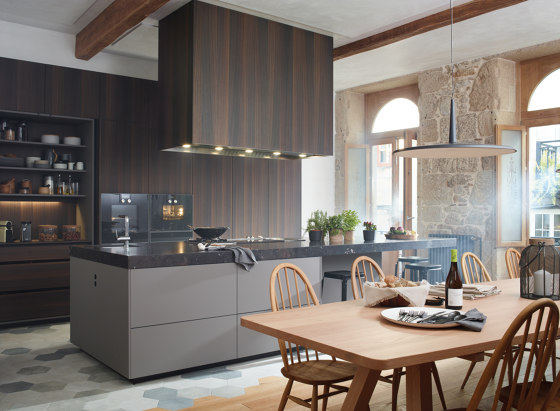 Silk Mink Grey LAH FINE by Santos | Fitted kitchens
