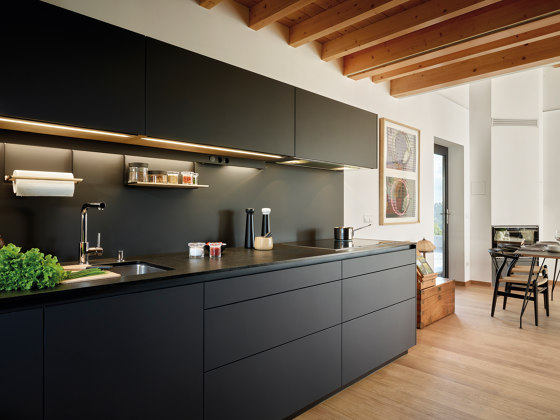 LED lighting systems FINE by Santos | Fitted kitchens