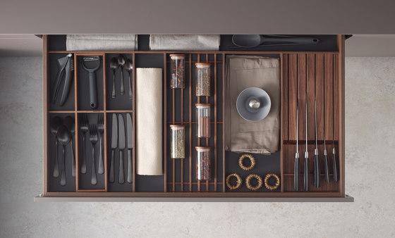 Drawer accessories by Santos | Kitchen organization