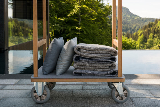 Gustav | luggage trolley by Georg Muehlmann | Trolleys