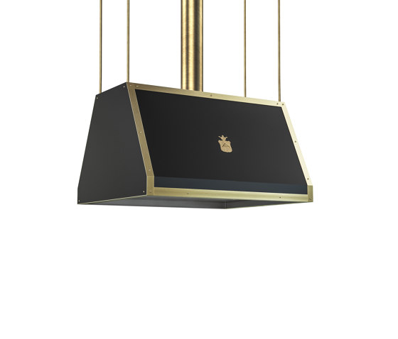 "DOMESTIC ""PYRAMID WITH STRAIGHT SIDES"" ISLAND HOOD