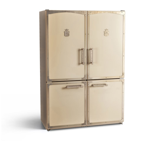 REFRIGERATORS AND WINE CELLARS | DOUBLE FRIDGE -FREEZER WITH BIOCOOL AND BIOFRESH BOXES by Officine Gullo | Refrigerators