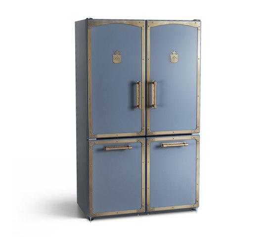 REFRIGERATORS AND WINE CELLARS | DOUBLE FRIDGE-FREEZER WITH BIOFRESH AND BIOCOOL-BOX by Officine Gullo | Refrigerators