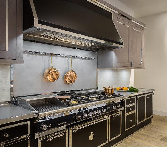 JET BLACK & SATIN CHROME KITCHEN by Officine Gullo   Fitted kitchens