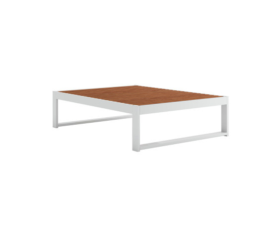 DNA Teak Rectangular Coffee Table by GANDIABLASCO | Coffee tables