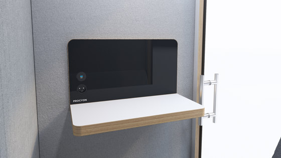 Procyon Stand Up by Silence Business Solutions | Telephone booths
