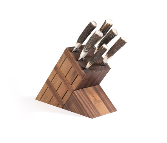 KNIVES BLOCK by Officine Gullo | Kitchen accessories