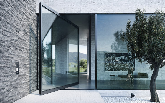 Pivoting door by air-lux | Internal doors