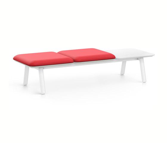 HUB 3 bench HU33L by Interstuhl | Benches
