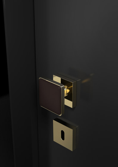 Leather Home by Glass Design | Knob handles