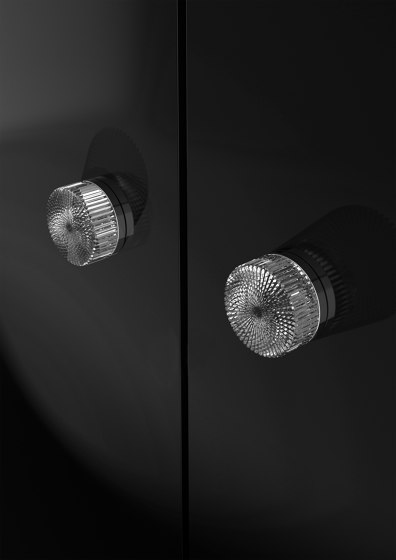 Ray Pull by Glass Design | Cabinet knobs