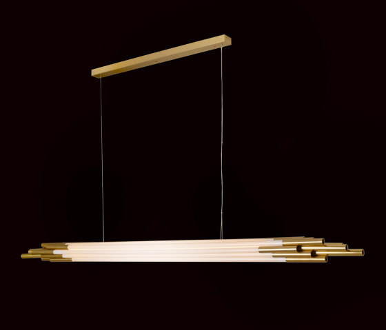 ORG PENDANT H 2000 by DCW éditions | Suspended lights